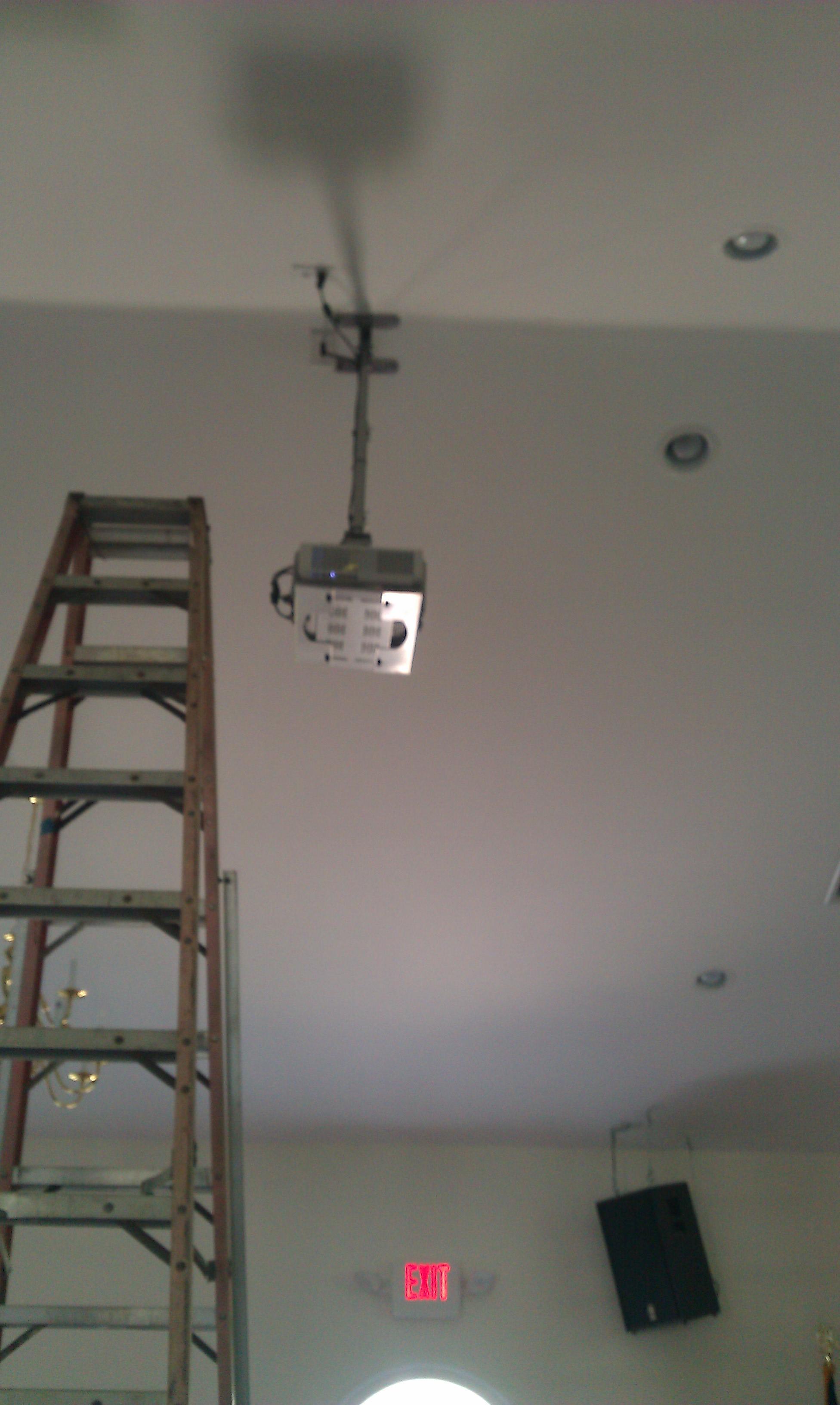 Hinesville SDA Projector